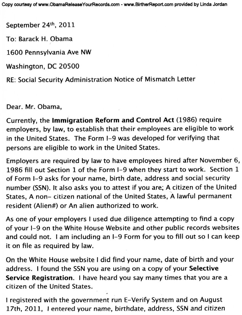 does not have a valid social security number or is using a forged one social security number verification letter